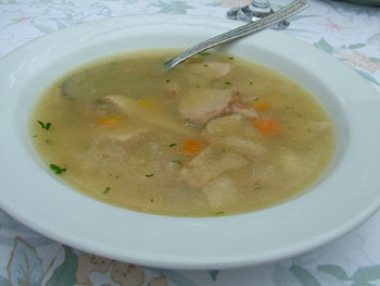 Anderlic Maribor mushroom soup
