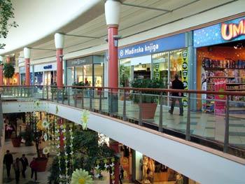 Maribor Europark shopping