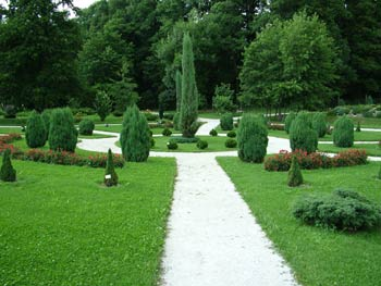 Maribor University botanic garden