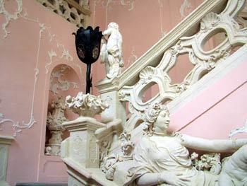 Maribor castle - central staircase