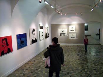 The Maribor Art Gallery - Zmago Jeraj's exhibition