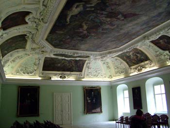 The Maribor Castle-the Knights hall