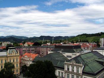 Maribor skyline