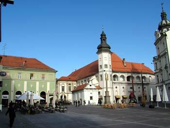 Maribor city guide - castle square