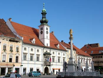 Maribor city guide - main square