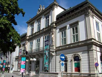 Maribor city guide - Slovenian national theater