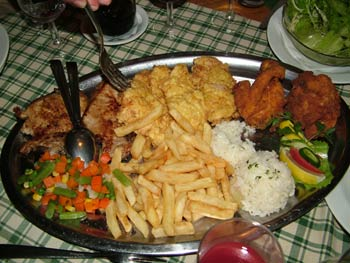 Tourist farm Brigadir food 1