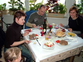 Gala zar Balkan restaurant in Maribor