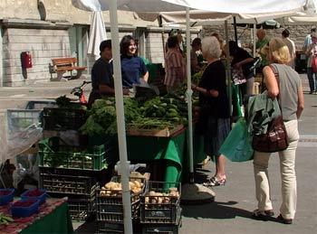 Maribor open market shopping 2