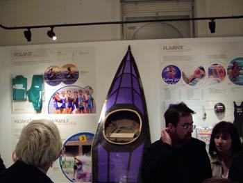 Maribor National Liberation Museum - canoe