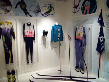 Maribor National Liberation Museum - skiing outfit