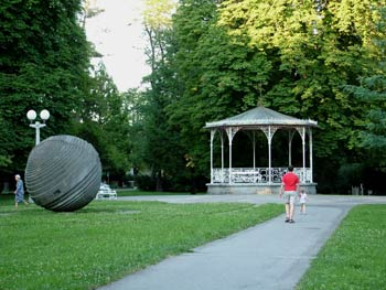 Favorite place - Maribor city park 8
