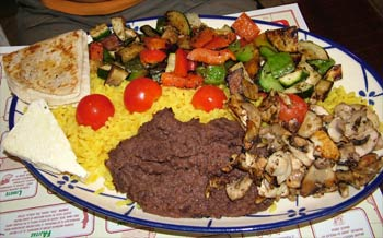 Restaurant Takos - Verduras