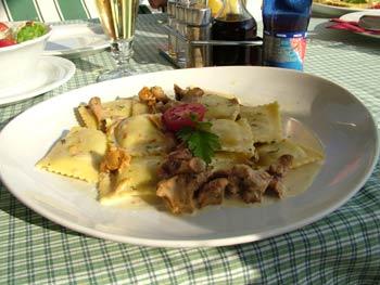 Restaurant Villa Rustica - main course