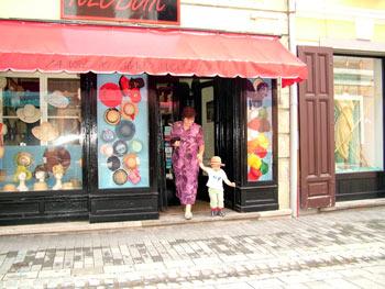 Street shop in Maribor
