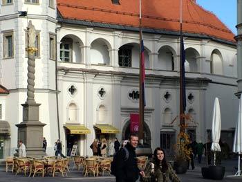 Refurbished Maribor castle
