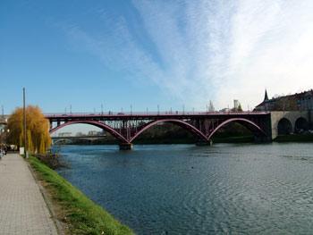 The Old bridge in Maribor