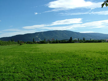 Pohorje from the northwest of Maribor