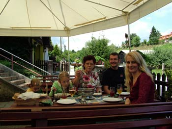 Maribor tourist farms - family meal