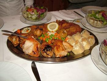Maribor tourist farms - food
