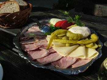 Maribor tourist farms - more food
