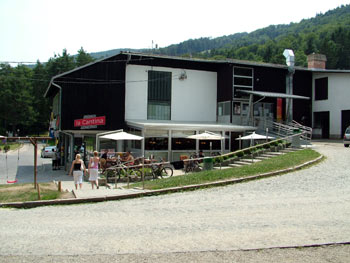 Pohorje lower cable car station
