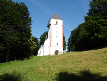 Pohorje Bolfenk church