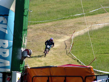 Mountain biking competition on Pohorje