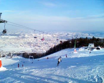 Pohorje skiing views 1