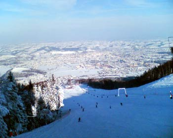 Pohorje skiing views 2