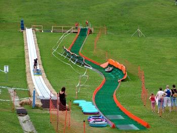 Fun park at Pohorje Snow Stadium