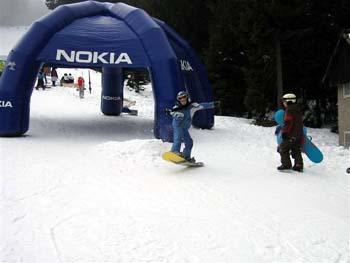 Pohorje snowboarding for kids
