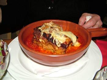 Restaurant Ancora lasagna