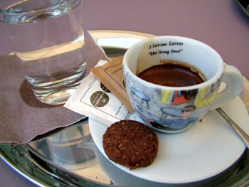 Restaurant Rozmarin - espresso coffee