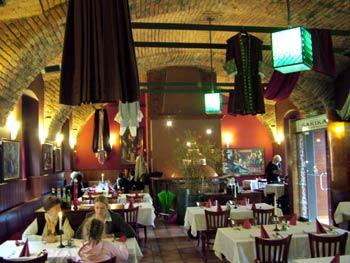 Restaurant Sarika interior