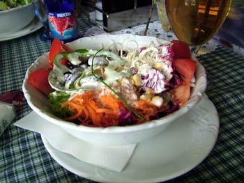 Restaurant Villa Rustica salad