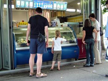 Maribor Lastovka ice cream 2