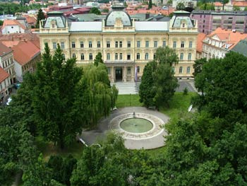 University of Maribor from above