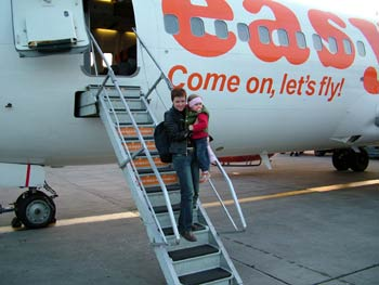 Arriving to Ljubljana airport