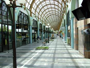 Maribor central bus station