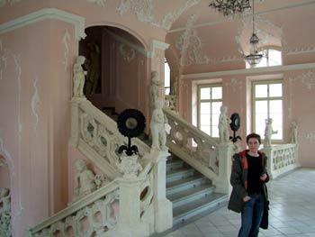 The Maribor Castle-baroque stairway