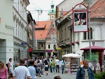 Maribor pedestrian zone