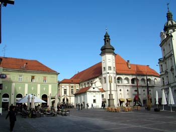 Maribor city guide - castle square