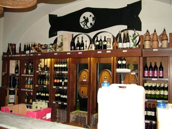 Vinag's wine shop.
