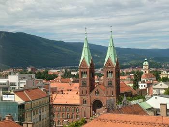 Maribor rooftops
