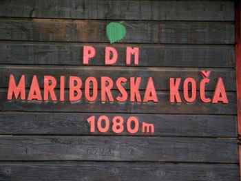 Pohorje Mariborska cottage