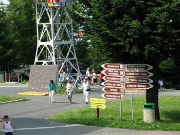 Pohorje upper cable car station