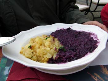 Restaurant Sarika cabbage