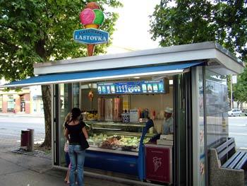 Maribor Lastovka ice cream 1